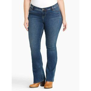Torrid Denim Luxe Slim Bootcut Jeans 12 Regular